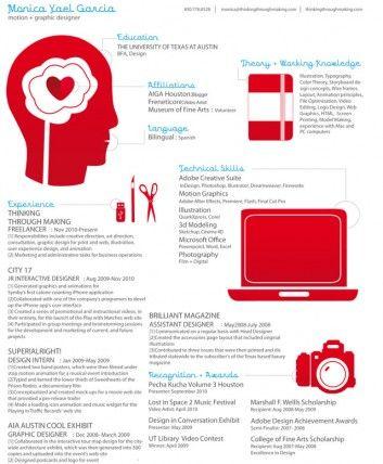 cv inspiration 30 of the best cv designs - Resume And Cv