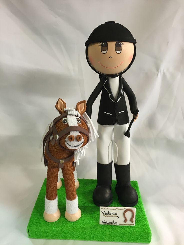 Amazonas y su caballo