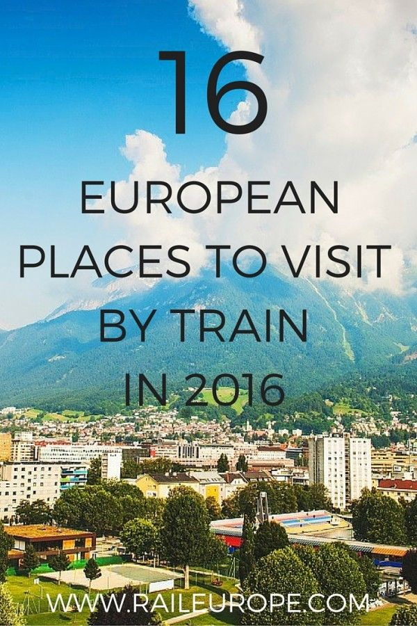 "Inspired by the NY Times ""52 Places to Visit in 2016"" list. Click to read more! #travel #europe"