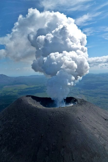Volcano, Kamchatka Peninsula, Russia. Eugene Kaspersky