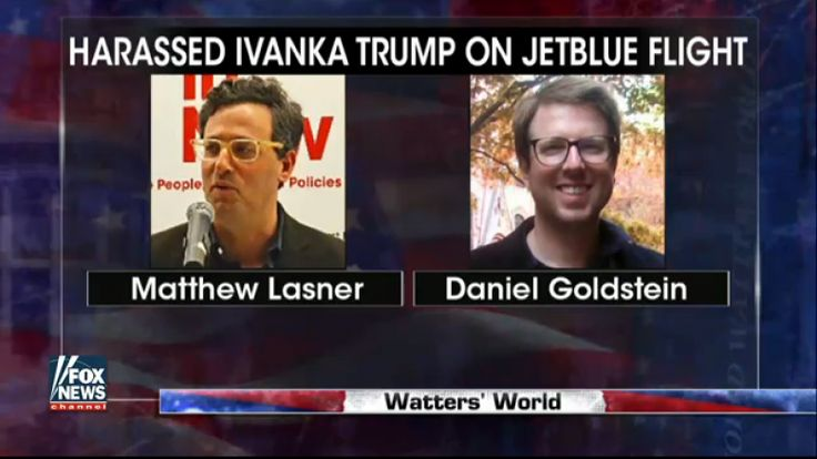 Watters Confronts Man Who Harassed Ivanka Trump on JFK Flight
