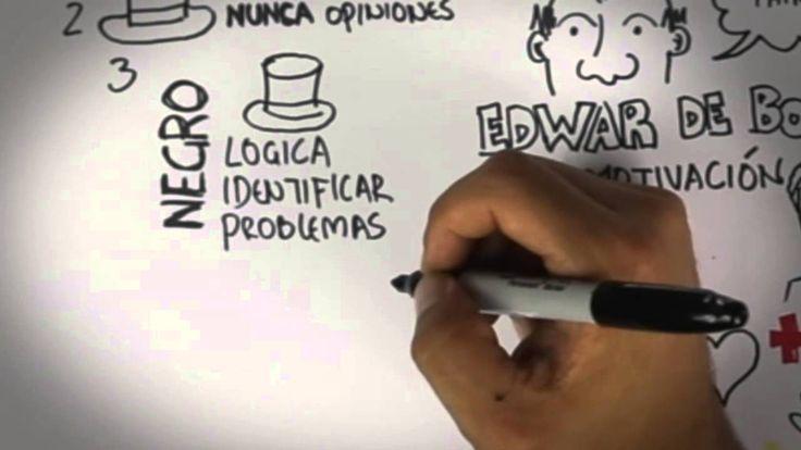 La técnica de los 6 sombreros para resolver problemas