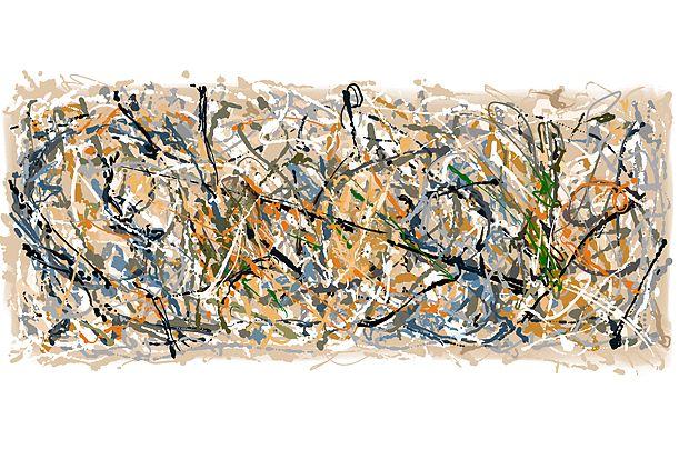 Jackson Pollock doodle