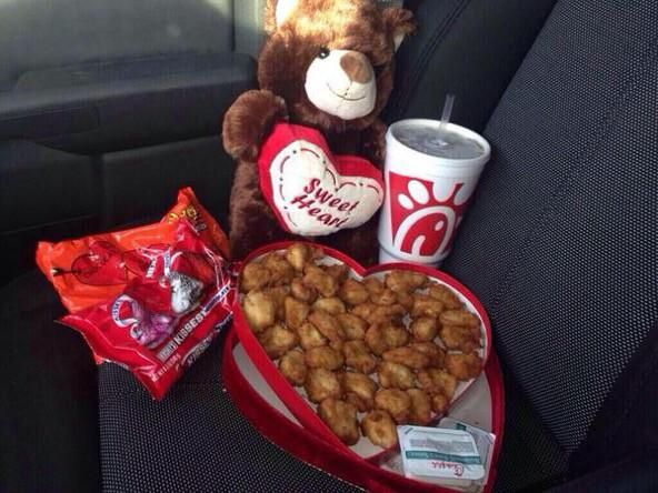 Not all girls are demanding a romantic Valentine's Day.   I would like 1, 3, 4, 14(but moe's), 15, 19(I'll take hiking boots instead)