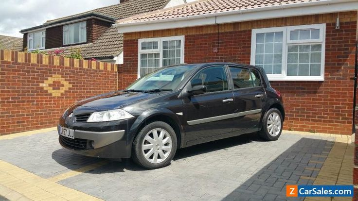 2007 RENAULT MEGANE DYNAMIQUE BLACK 5 DOOR HATCHBACK NO