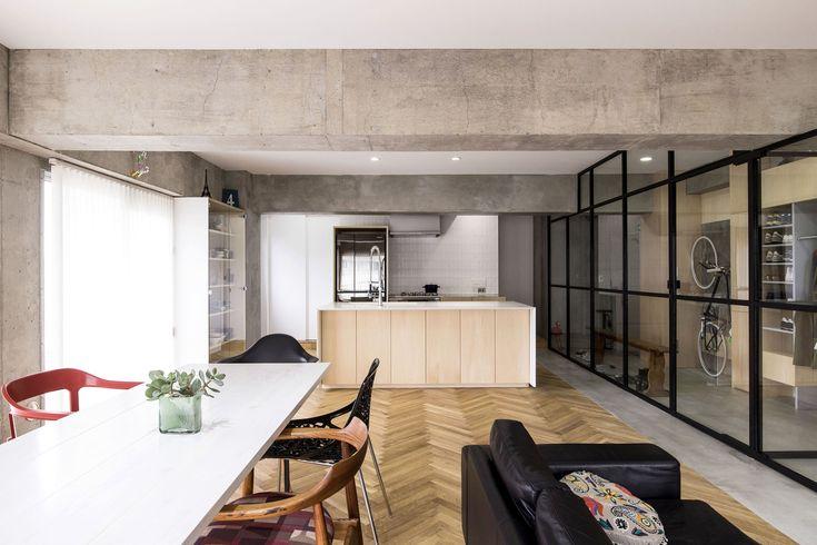 Gallery of Syncopated, Revolving Door Condo / Tomokatzu Hayakawa Architects - 1