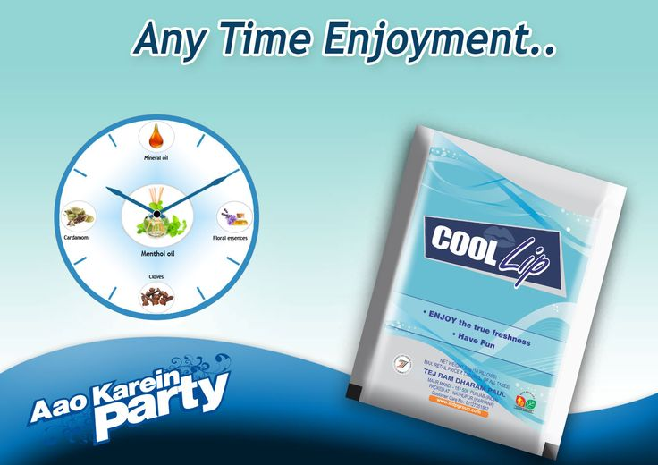 Enjoy with ‪#‎coollip‬ at anytime any place and everywhere.... ‪#‎coollipmouthfreshner‬