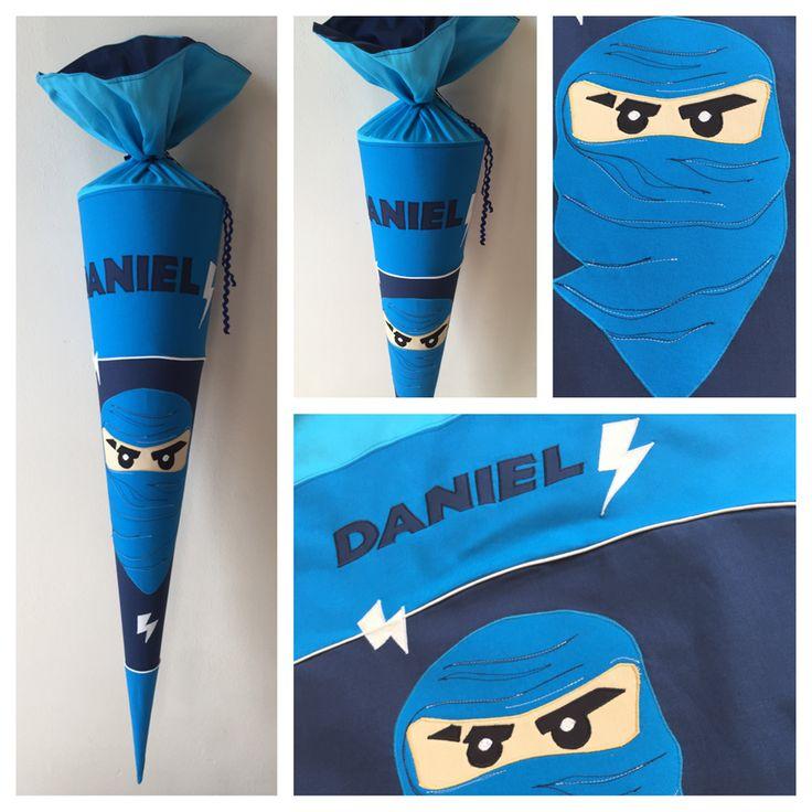 Schultüte aus Stoff Ninjago Kay Ninja, 85 cm