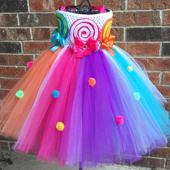 Candy land tutu dress by LMSweetBoutique on Etsy