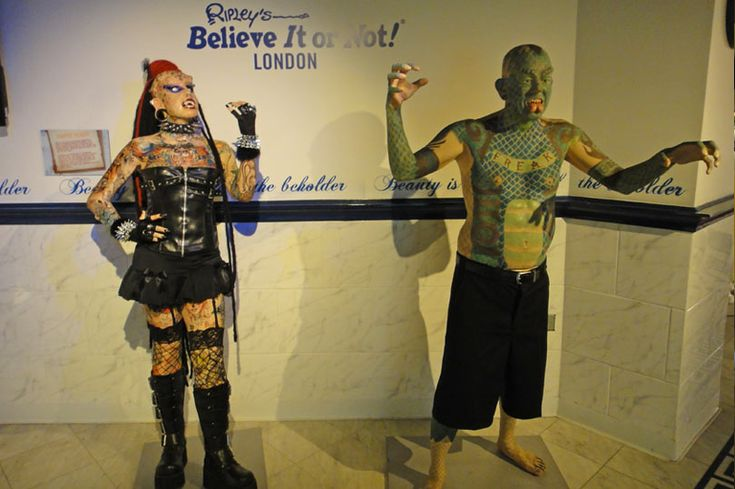 Ripley's Believe it or not London - a perfect day out for those who like everything weird and wonderful!