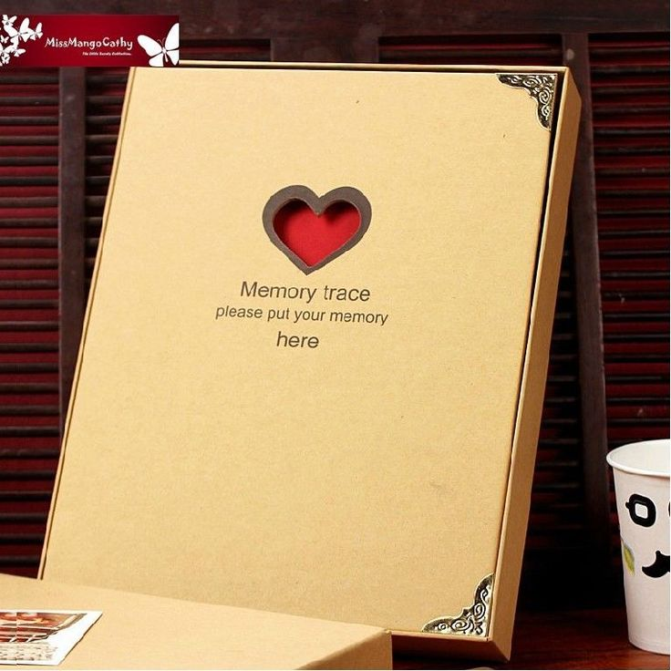 Memory Trace 1 Pc Cute DIY Photo Album Kids Mommy Baby Wedding Gift