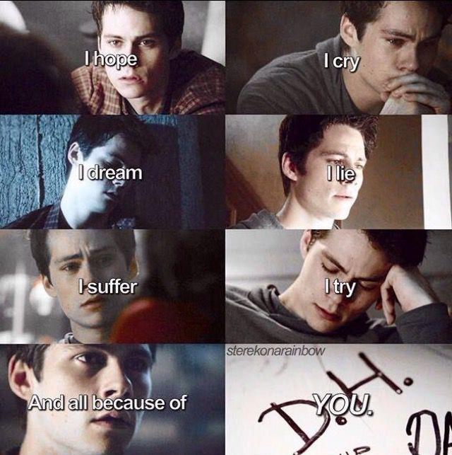 Save me from myself, Don't let me drown *** (Inspiré de Teen Wolf) LOVE STEREK❤
