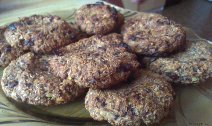 48. Cookies z ovsených vločiek a banánu - FitRecepty