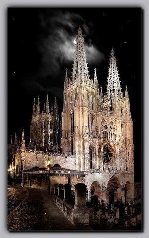 Catedral de noche-Burgos Spain