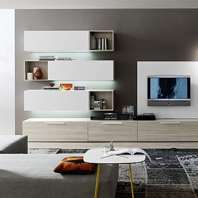 Contemporary TV unit composition Rhythm by Orme, features 3 ...