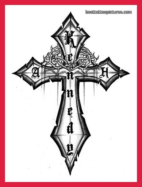 christian tattoo stencils