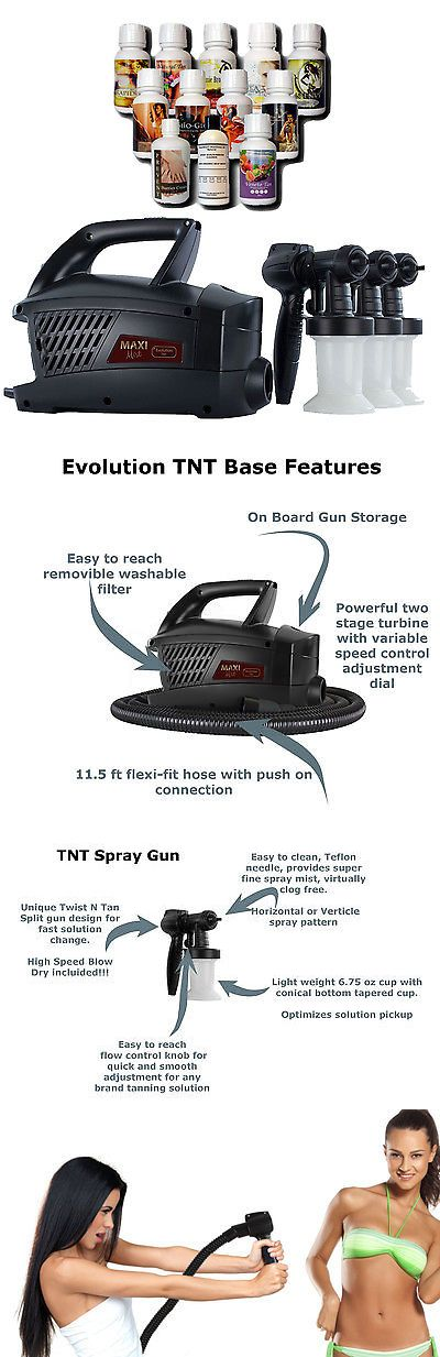 Airbrush Tanning Kits: Maximist Evolution Tnt Spraytan Machine With Extra Guns And Tampa Bay Tan Spray -> BUY IT NOW ONLY: $299 on eBay!