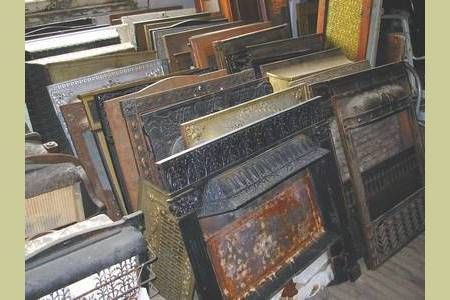 Antique 19th c.-20th c. Fireplace Inserts, price $155-$325 - want 1 or 2 or 3 .... :)