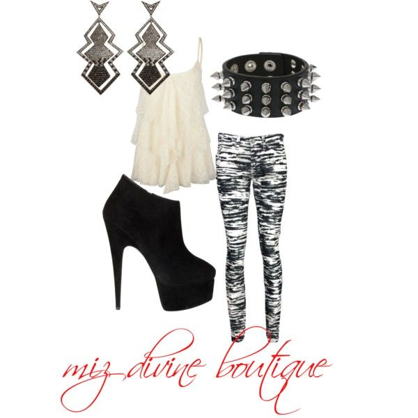 """Rock the Punk in you"" by mizdivineboutique on Polyvore"