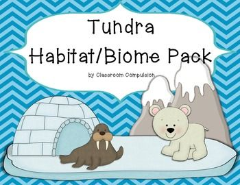 **Please see preview!**This pack would really help support your ecosystems curriculum.  It covers the tundra biome including arctic, antarctic, and alpine tundras.  It's integrated with writing and reading activities as well as the base science curriculum.