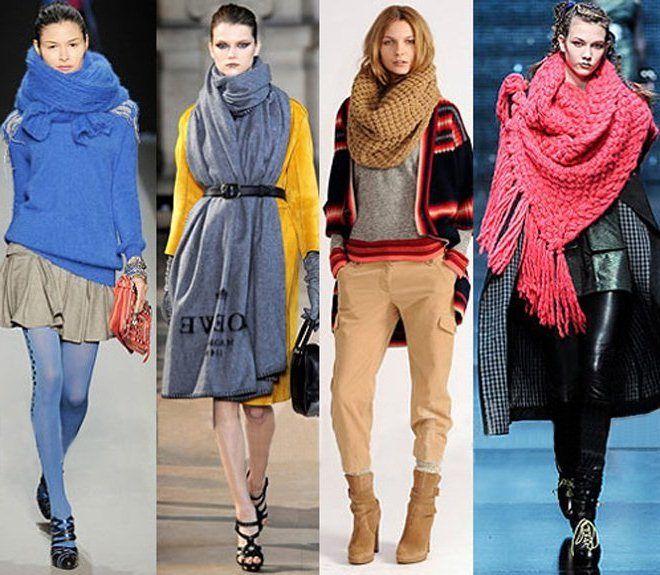 Как красиво завязать шарф   Как красиво завязывать шарф, платок