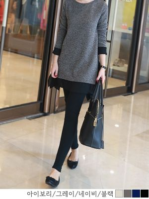 korean fashion online store [COCOBLACK] Soft cut leggings / Size : M,L,XL / Price : 20.16 USD #korea #fashion #style #fashionshop #cocoblack #missyfashion #missy #bottom #leggings #dailyitem