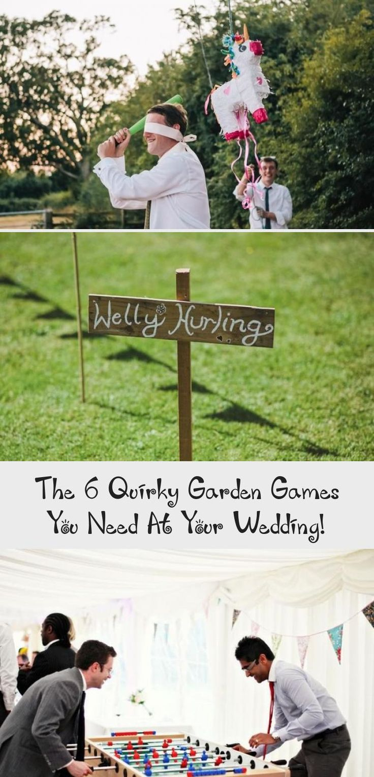 Wedding receptions are often filled with outdoor garden games and entertainment, but which ones should you choose? Here are our top 6 picks for maximum fun at your wedding reception! Find out on the Wedding Ideas website! #gardenweddingHairstyles #Elegantgardenwedding #gardenweddingColors #gardenweddingEnchanted #gardenweddingDIY