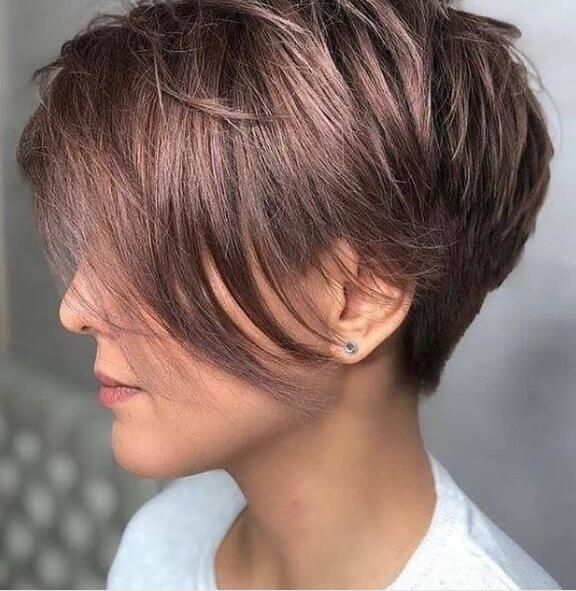 Best Short Pixie Haircuts for Women in 2019