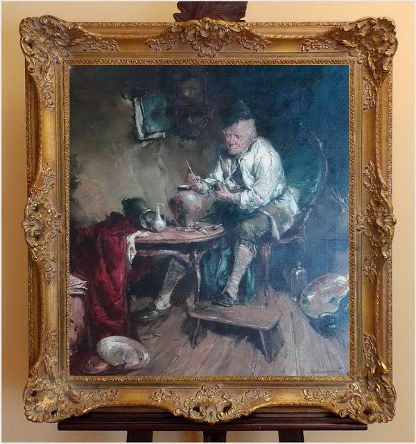 Galerie Doris - Witamy na naszym Blogu: ARCYDZIEŁO! MALARZ PORCELANY ~  GERHARD DICKMEIS (...
