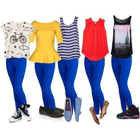 40 Modelos de Calça Azul Royal, Marinho, Claro, Escuro, Bic