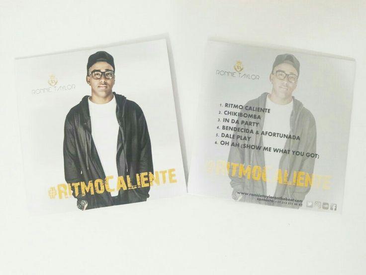 Ya listos los CDs de #RitmoCaliente 💿💿💿