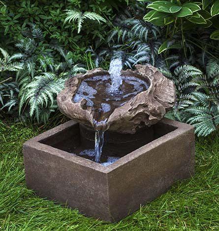 Driftwood Garden Water Fountain