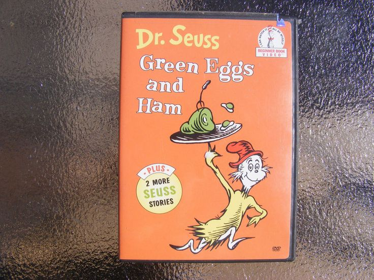 Dr. Seuss Green Eggs And Ham 2002 Sony DVD Green eggs