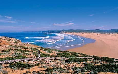 Praia da Bordeira Portugal.  Costa Vicentina