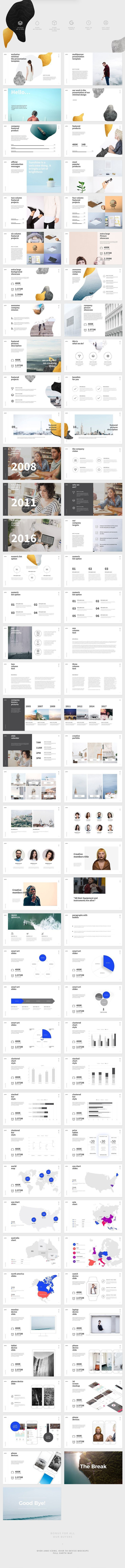 582 best powerpoint templates images on pinterest business pattern powerpoint template creative modern clean minimalist trendy professional marketing toneelgroepblik Choice Image