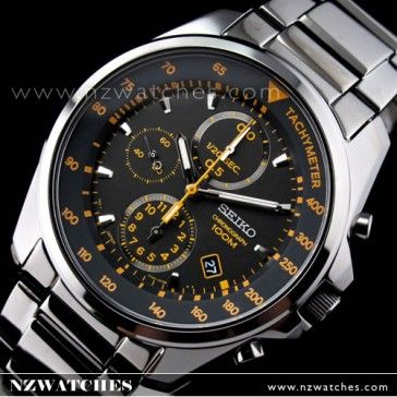 BUY Seiko Men's Chronograph Black Ion Plated Bracelet Watch SNDD65P1 - Buy Watches Online | SEIKO NZ Watches