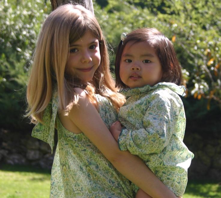 Blusa Capri y ranita Cayetana en Liberty Lodden http://pajarato.com