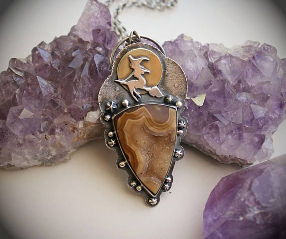 LOVE LOVE LOVE this pendant from LaFreeBoheme on Etsy. Absolutely perfect!