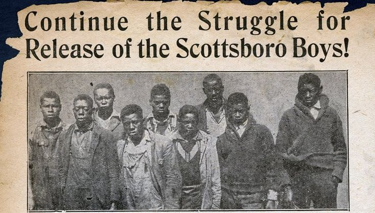 Lest We forget: The Scottsboro Boys arrested on March 24,25 1931... The Scottsboro Boys were nine Black teenage boys accused of raping two white women in Alabama in 1931. The landmark set of legal cases from this incident dealt with racism and the right to a fair trial. The case includes a frameup, all-white jury, rushed trials, an attempted lynching, angry mob, and miscarriage of justice. On March 24, 1931, on the Southern Railway line between Chattanooga and Memphis, Tennessee, nine black…