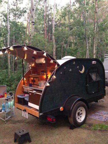 Teardrop Trailer Custom Made Camper | eBay