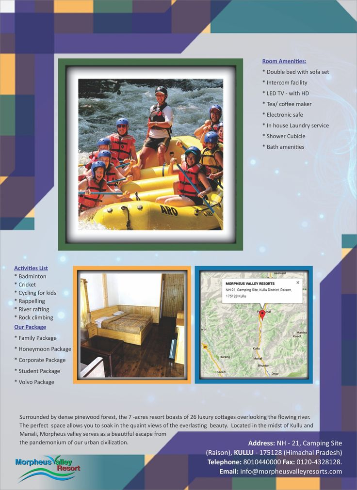 Family Tour & Holiday Package for Manali Infographic