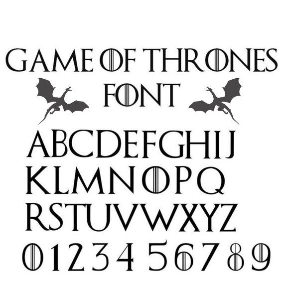 Game Of Thrones Font Svg Game Of Thrones Original Font Svg Etsy Game Of Thrones Tattoo Game Of Thrones Art Game Of Thrones Cards