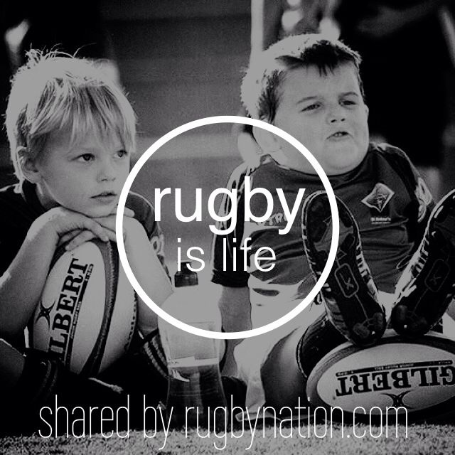 Rugby Is Life!  #rugby #rugbylife #rugbyislife