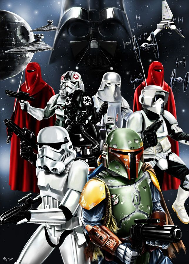 The Empire by rhymesyndicate.deviantart.com: War Dork, Nerdy Stuff, Stars War Art, Empire, Star Wars, Dark Side, Let Parties, Starwars Troopers, Geeky Stuff