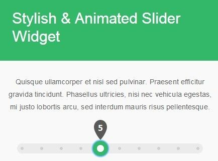 A super simple jQuery extension that enhances the default jQuery UI slider widget to create a stylish & animated range slider with CSS3 transitions and transforms.