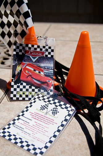 Cute Disney's 'Cars' Themed Party Ideas