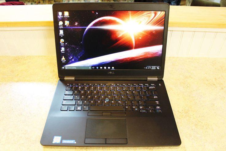 "Dell Laptop 14"" Latitude e7470 Notebook i7 8GB Ram 256GB SSD Adobe CS6 Ultrabook #Dell"