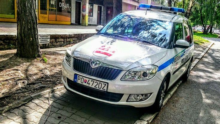 Skoda Roomster City Police