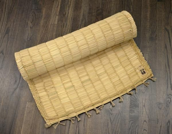 Hand made Organic Yoga Mat - Water Reed by kaarigar made in India