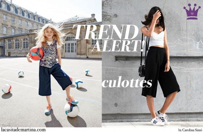 www.lacasitademartina.com #kids #niños #modainfantil #kidswear #fashionkids #kidsfashion #modaniños #moda #coolkids #culotte  ♥ Trend Alert! El pantalón culotte que también tiene mamá ♥ Tendencias Moda Infantil : ♥ La casita de Martina ♥ Blog de Moda Infantil, Moda Bebé, Moda Premamá & Fashion Moms